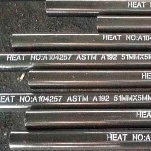Tubos ASTM A192 / NBR 5594